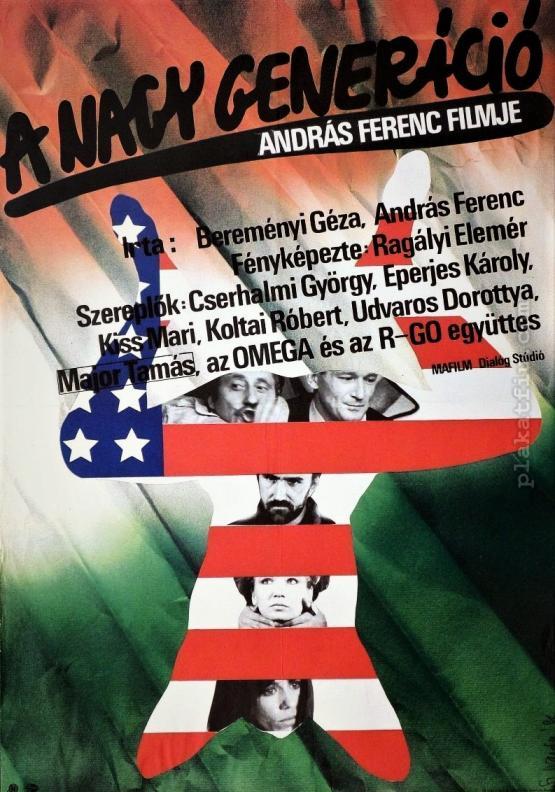 A nagy generáció filmplakát