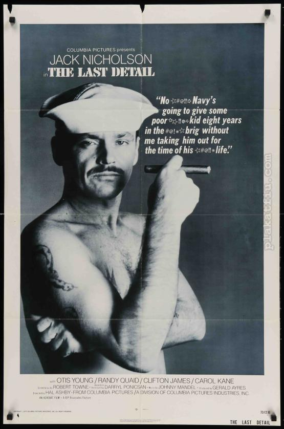 Az utolsó szolgálat filmplakát