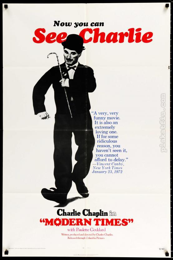 Modern idők filmplakát