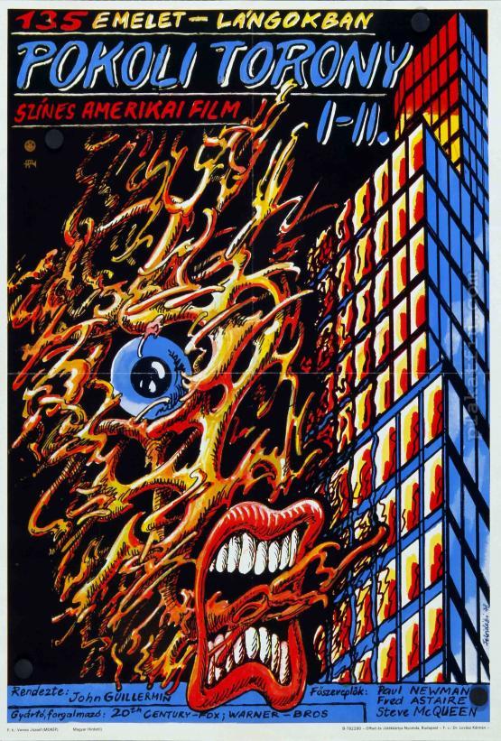 Pokoli torony movie poster
