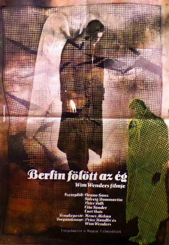 Berlin felett az ég filmplakát