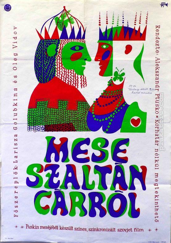 Mese Szaltán cárról filmplakát