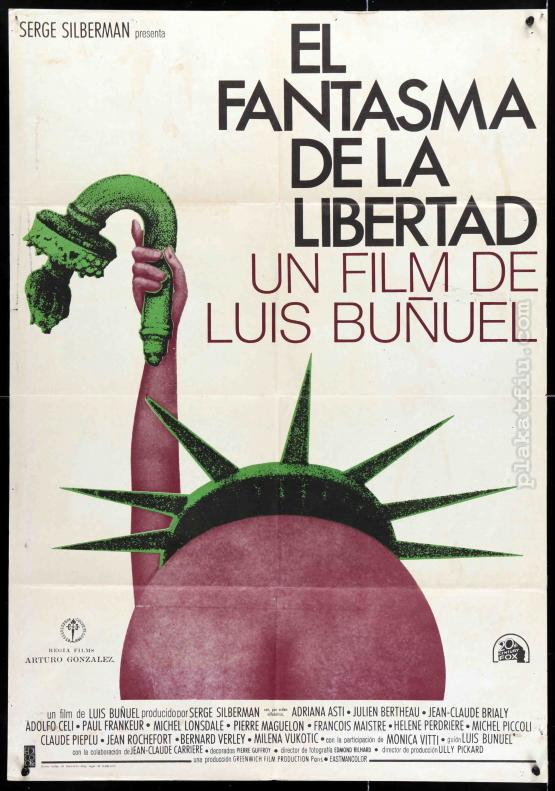 A szabadság fantomja filmplakát