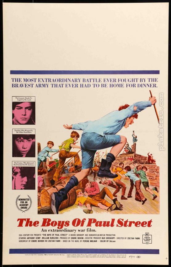 Pál utcai fiúk filmplakát