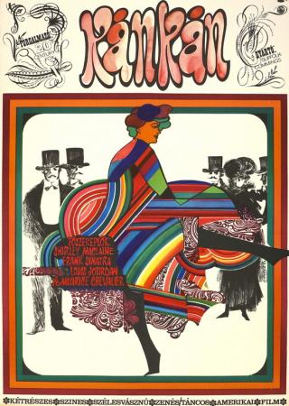 Kán-Kán filmplakát
