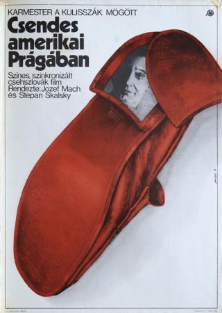 Csendes amerikai Prágában filmplakát