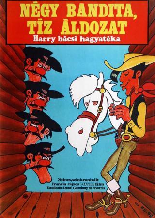 Négy bandita, tíz áldozat filmplakát
