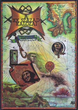 A XX. század kalózai filmplakát