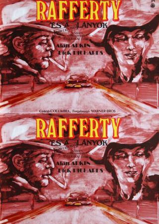 Rafferty és a lányok filmplakát