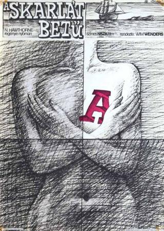A skarlát betű filmplakát
