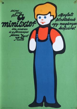 A miniszter  filmplakát