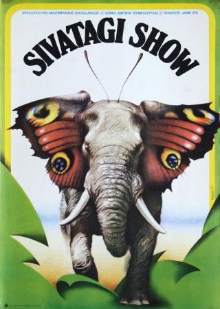 Sivatagi show filmplakát