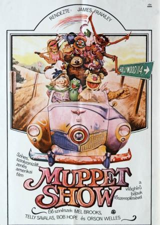 Muppet show filmplakát