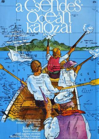 A csendes óceán kalózai filmplakát