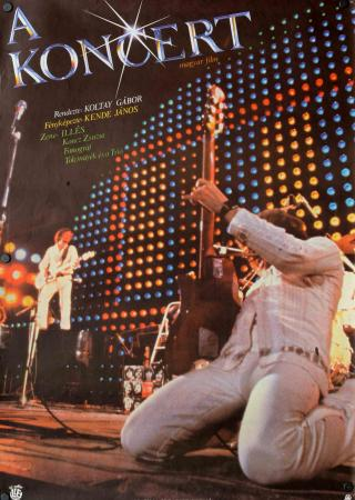 A koncert filmplakát