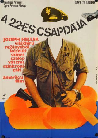 A 22-es csapdája filmplakát