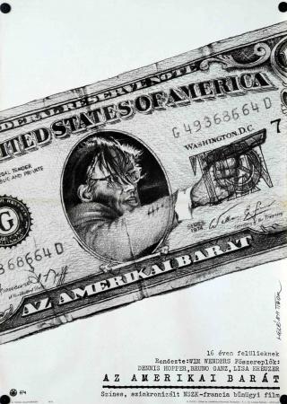 Az amerikai barát filmplakát