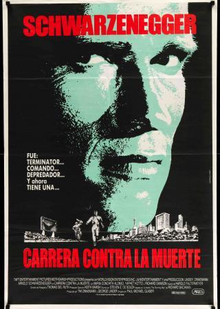 A menekülő ember filmplakát