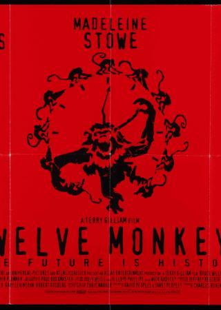 12 majom filmplakát