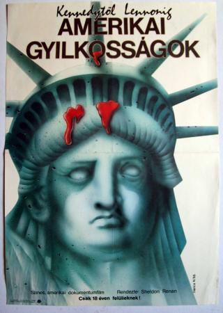 Amerikai gyilkosságok filmplakát