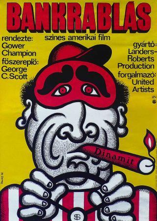 Bankrablás filmplakát