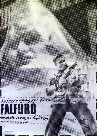 Falfúró filmplakát