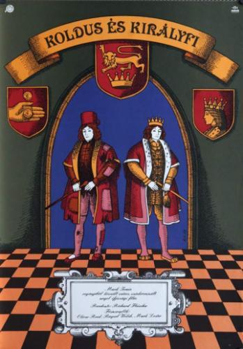 Koldus és királyfi filmplakát