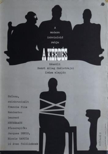 A kérdés filmplakát