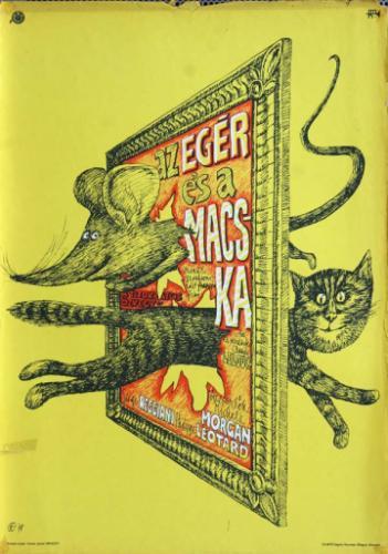 Az egér és a macska filmplakát