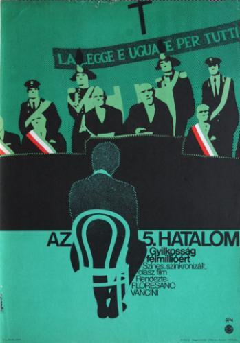 Az ötödik hatalom filmplakát