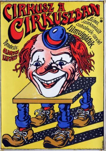 Cirkusz a cirkuszban filmplakát