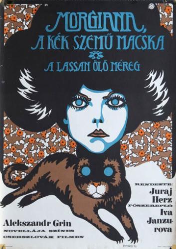 Morgiana kék szemű macskája filmplakát