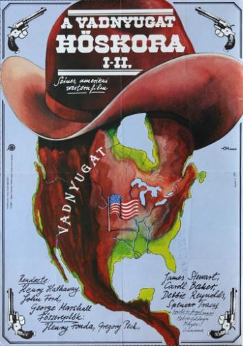 A vadnyugat hőskora filmplakát