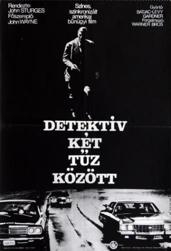 Detektív két tűz között filmplakát