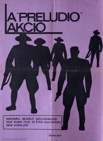 A preludió akció filmplakát
