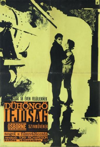 Dühöngő ifjúság filmplakát