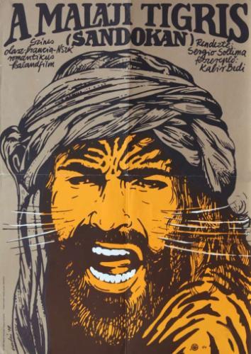 A maláj tigris filmplakát