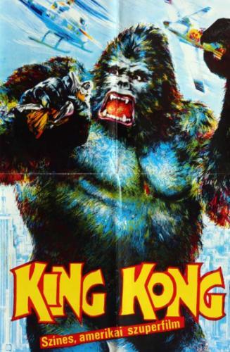 King Kong filmplakát