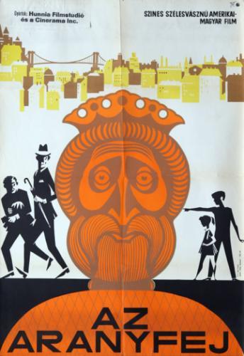 Az Aranyfej filmplakát