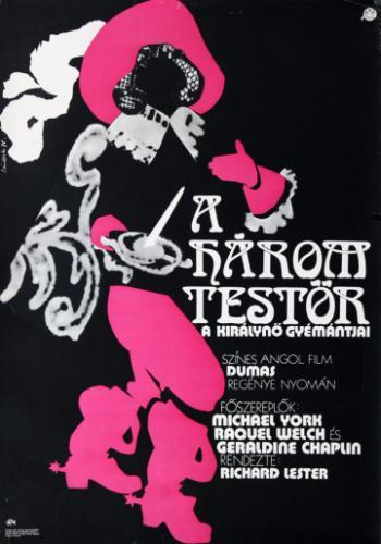 A három testőr filmplakát