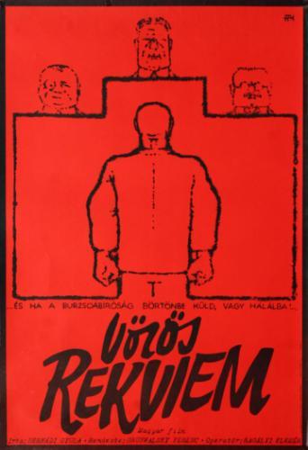 Vörös rekviem filmplakát