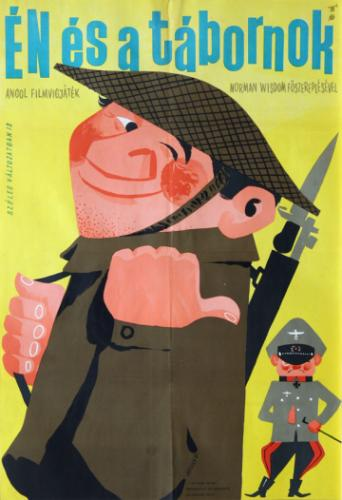 Én és a tábornok  filmplakát
