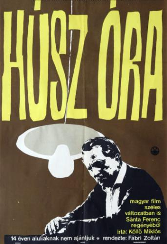 Húsz óra filmplakát