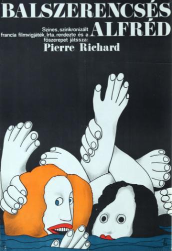 Balszerencsés Alfréd filmplakát