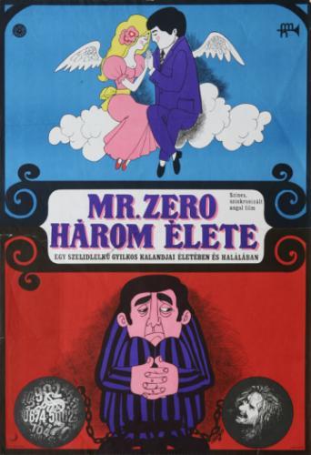 Mr. Zéró 3 élete filmplakát