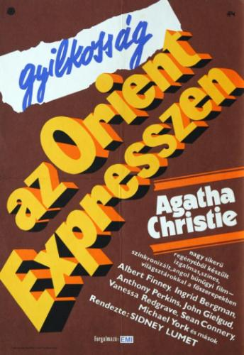Gyilkosság az Orient expresszen  filmplakát