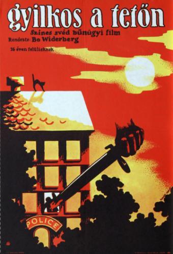 Gyilkos tetőn filmplakát