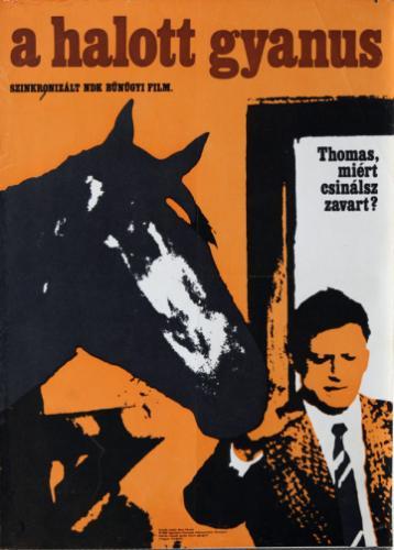 A halott gyanús filmplakát