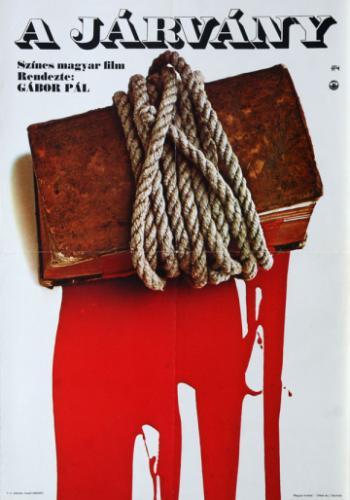 A járvány filmplakát