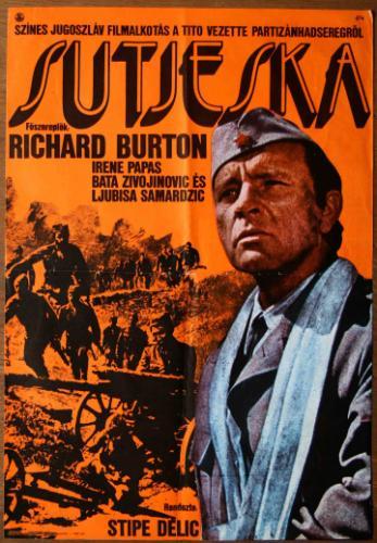 Sutjeska-Az ötödik támadás filmplakát